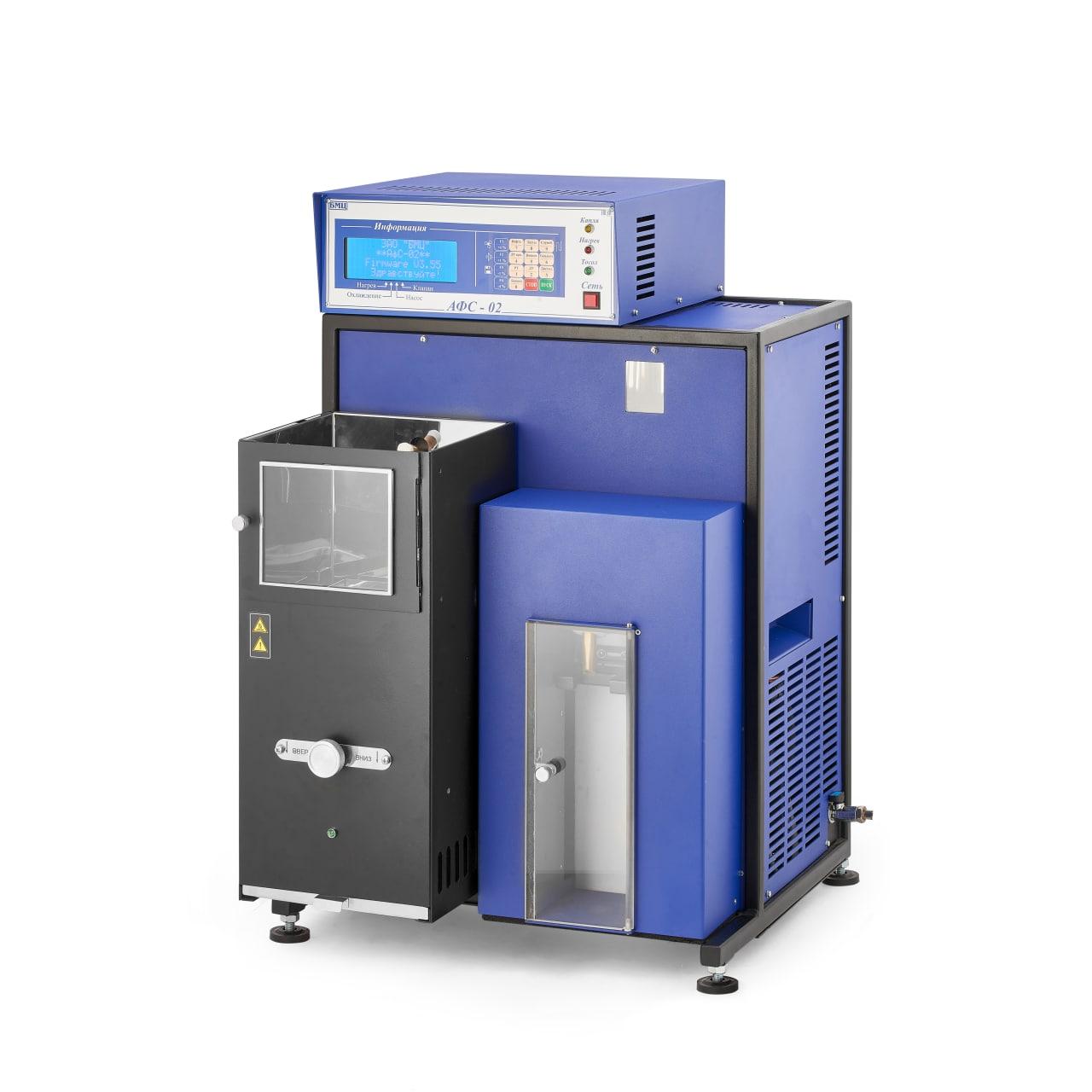 Аппарат для определения фракционного состава нефтепродуктов «АФС-02»